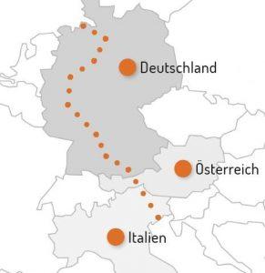 Ueberregionale Route